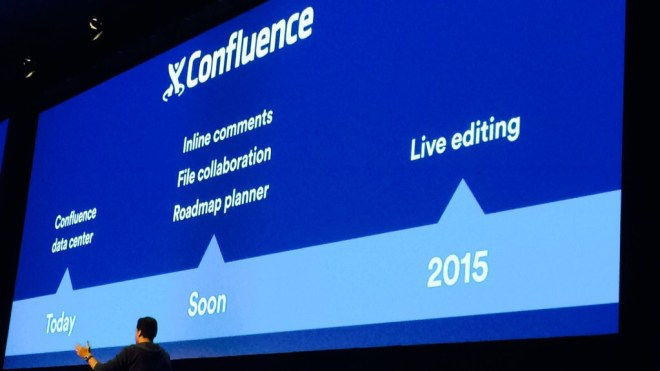 Confluence roadmap 2014 and 2015