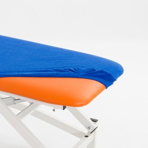 FISIOTECH Terry Towel Couch Cover – Blue, Hygienic Couch Cover for Rehabilitation, Examination, Therapy, Massage Sessions