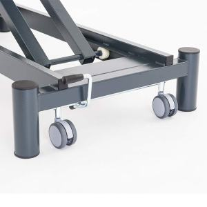 FISIOTECH Castors for Top Series Couches – Positioning Mobility Castors for Examination Tables, Gurneys, and Couches (128020)