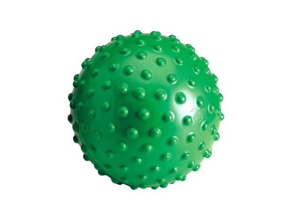 Gymnic Aku Balls, Green, Spiky Rings for Hand, Finger, Hip, & Back Massage, Stimulating Sensory Impulses