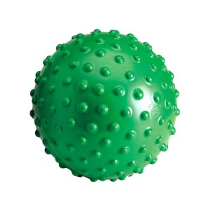 Gymnic Aku Balls, Green, Spiky Rings for Hand, Finger, Hip, & Back Massage, Stimulating Sensory Impulses