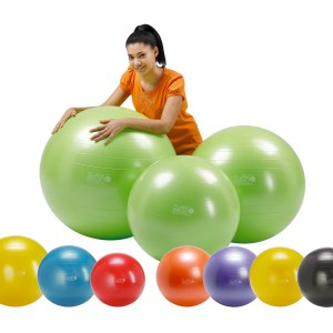 Gymnic – Gymnic Plus 75 BRQ, Rehabilitation Balls for Movement & Balance Physiotherapy