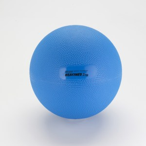 Gymnic Heavymed 3, Blue Exercising Balls for Outpatient-Rehabilitation Therapy