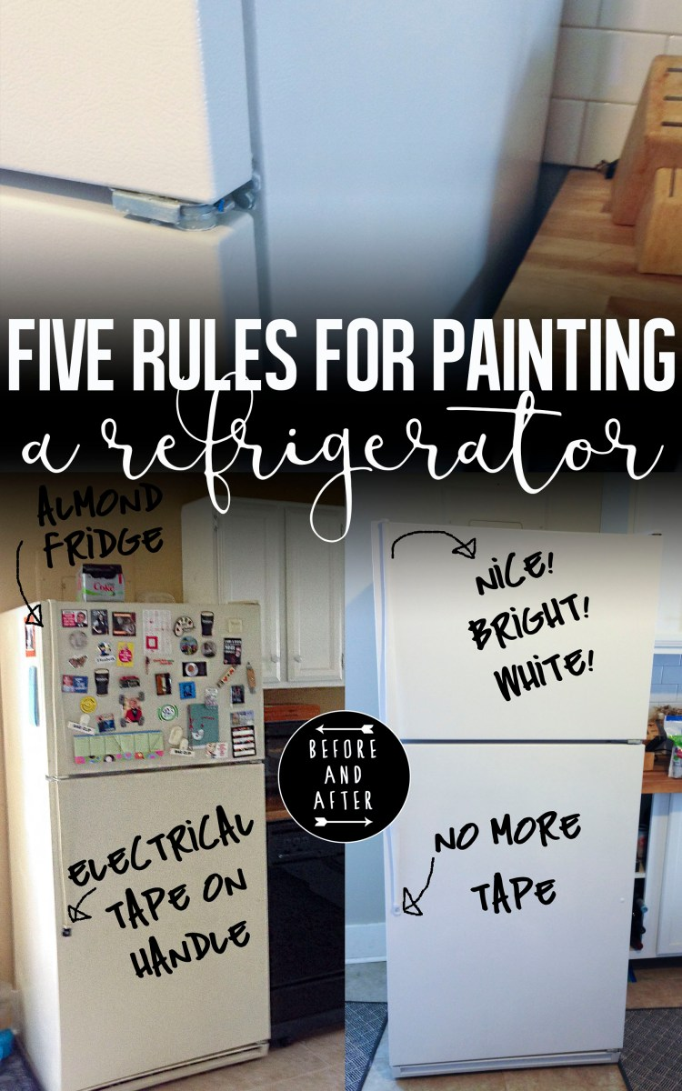 Five Rules for Painting your Fridge