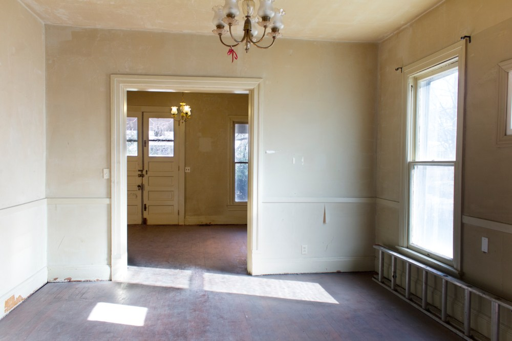 A Victorian house tour before renovation.