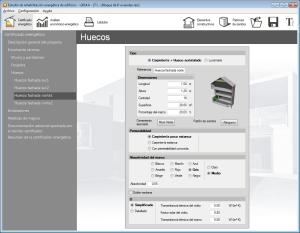 Estudio de rehabilitación energética de edificios. Envolvente térmica