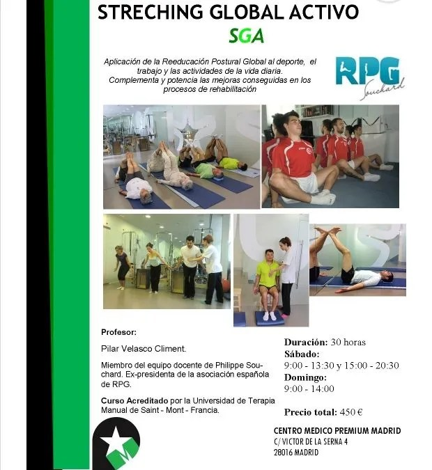 CURSO STRETCHING GLOBAL ACTIVO S.G.A. JULIO 2015
