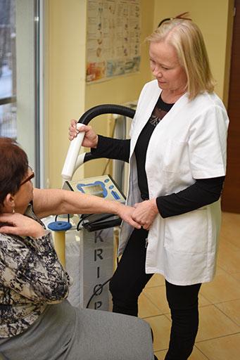 Zabieg krioterapii