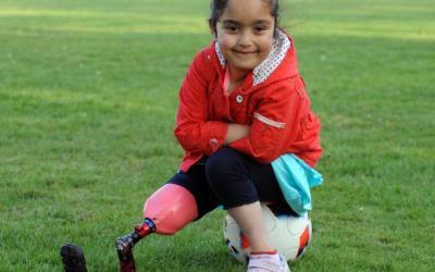Το  αθλητικό πόδι της Anu