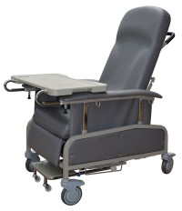 Geriatric Chair Reclining Mobile | Hospital Bed Accessories