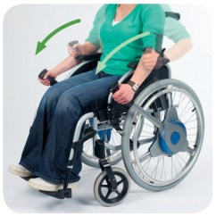 Drive Wheel Chair Best Cushioned Desk Nudrive Lever-drive Propulsion System   Wheelchair Parts & Accessories