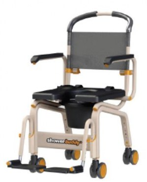 shower chair for elderly singapore exercises the bath equipment roll inbuddy commode showerbuddy sb6c