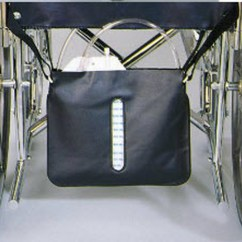 Ergonomic Chairs For Back Support Grey Rocking Chair Cushions Thru-view Urinary Drainage Bag Holder Skil-care 102015 | Wheelchair Parts & Accessories