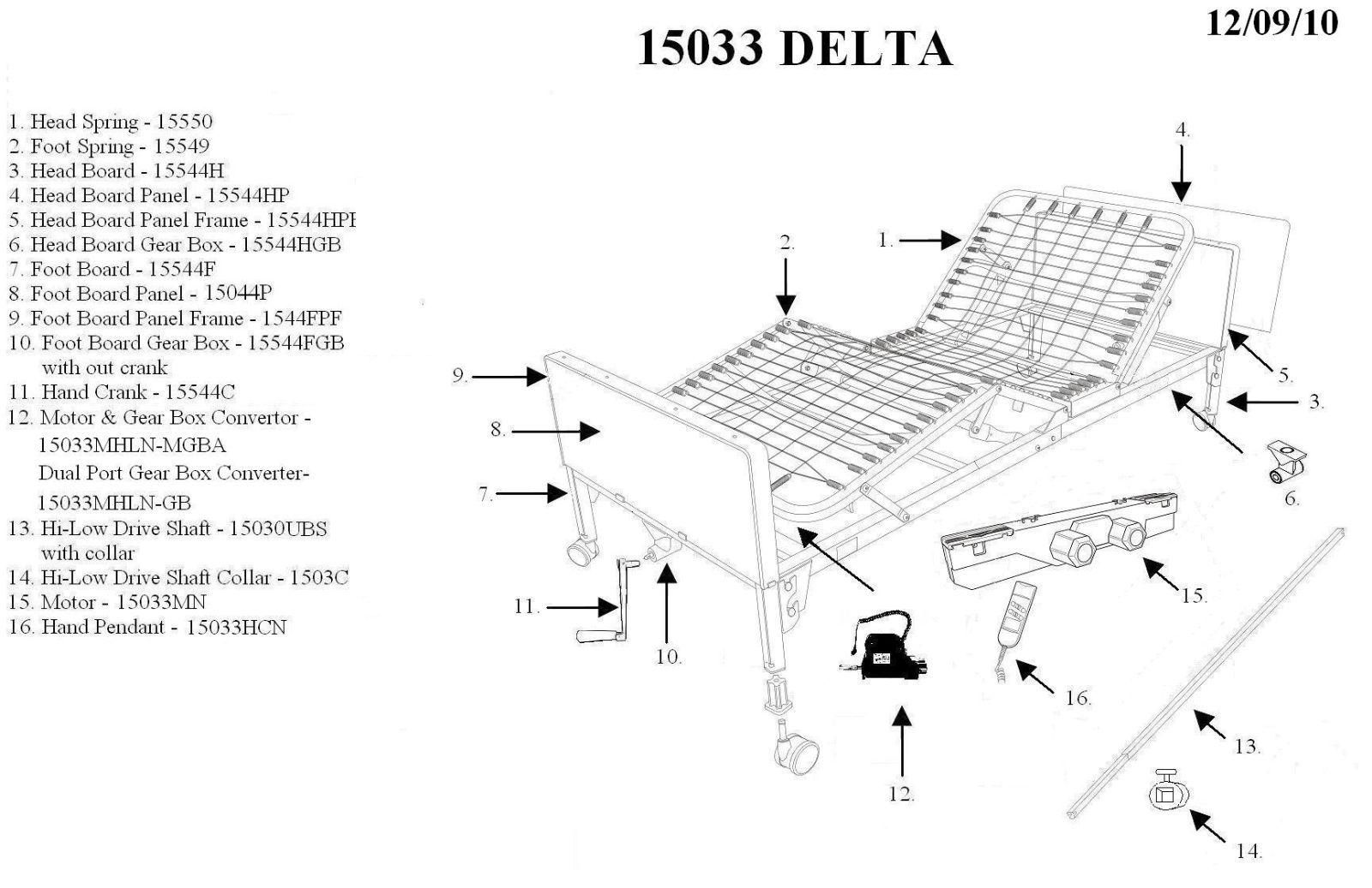 Drive Medical Delta Ultra-Light 1000 Full-Electric