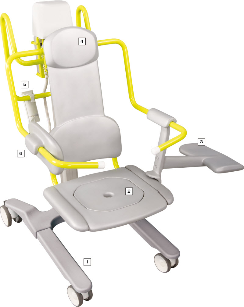 Bath Chair Lift Novum 1000 Seat Lift Reclining Transfer Chair Lift