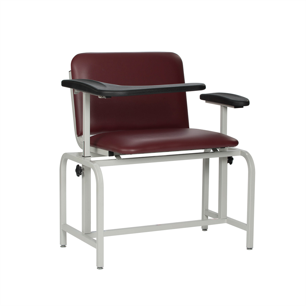 Bariatric Chair Winco Extra Large Padded Bariatric Blood Drawing Chair