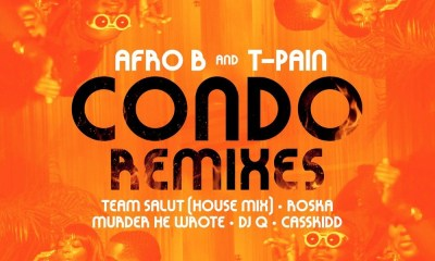 Afro B Ft. T-Pain – Condo (Murder He Wrote Remix)