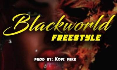 DOWNLOAD MP3: Nyarkoa Black – BlackWorld Freestyle