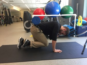 Proprioception, back pain, core, physical therapy