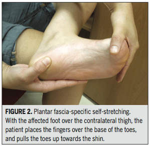plantar fasciitis, stretch, plantar stretch, quadratus plantae, physical therapy, trigger point