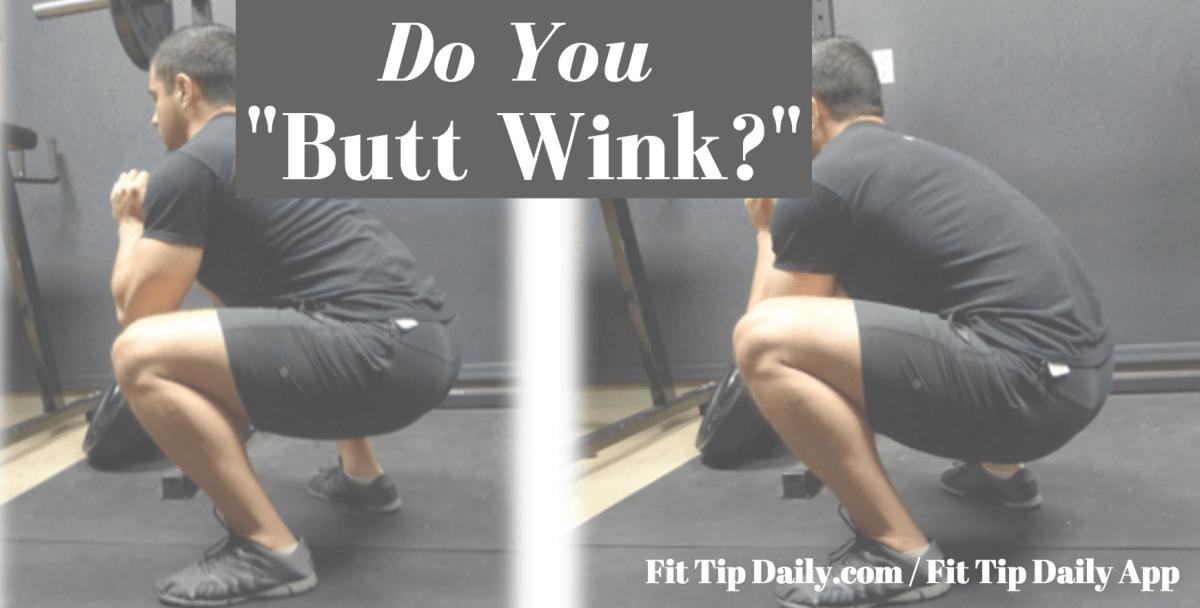 butt wink