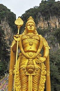 lord murugan statue, batu caves