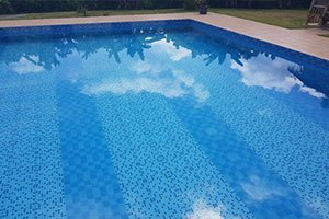 deep swimming pool