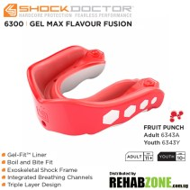 Shock Doctor Gel Max FlavorFusion Fruit Punch Features Rehabzone Singapore