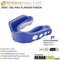 Shock Doctor Gel Max FlavorFusion Blue Raspberry Features Rehabzone Singapore
