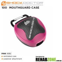 Shock Doctor Anti-Microbial Mouthguard Case Pink Features Rehabzone Singapore