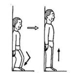 パーキンソン病体操/立位での下肢屈伸運動