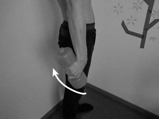 Ulna-flexion