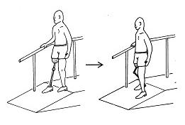 大腿義足の生活指導⑧