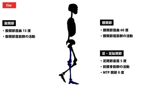歩行周期|イニシャルスウィング