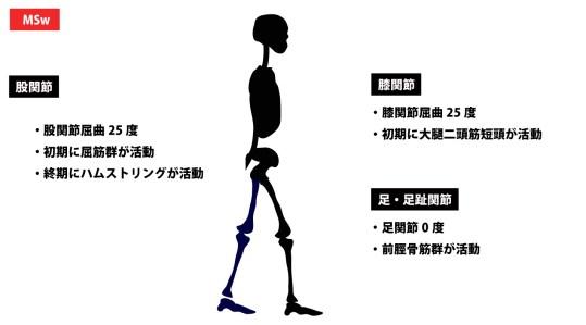 歩行周期|ミッドスイング