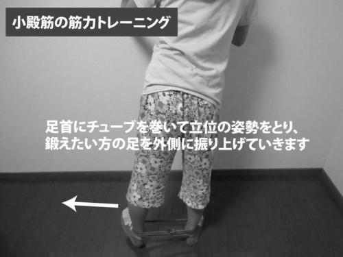 小殿筋の筋力トレーニング