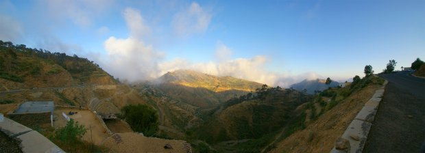 Asmara Mountain Panorama