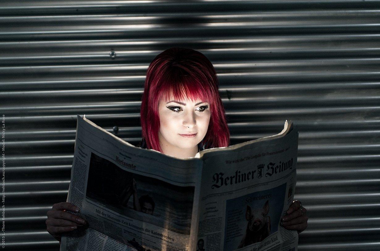 Portraits und Lichttest mit Nicky La Rose
