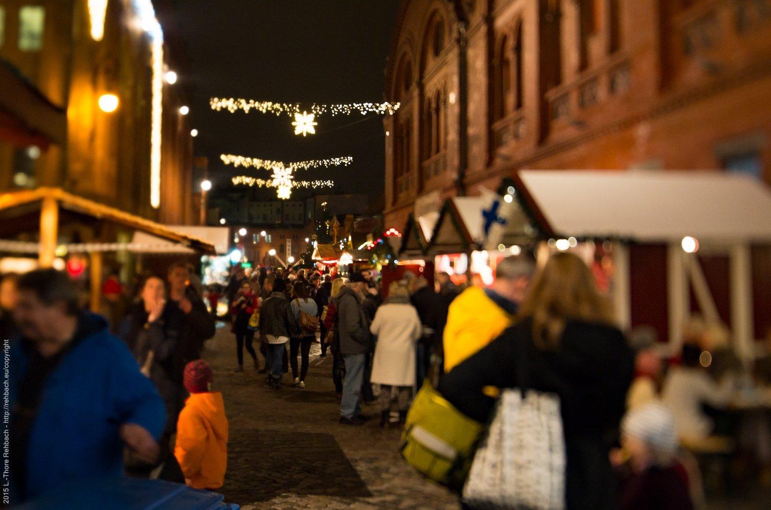 Weihnachtsmarkt Stippvisite