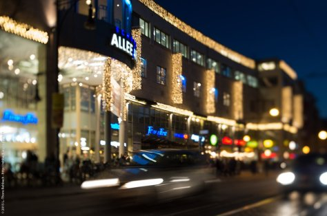 Tradition: Weihnachtsdeko am Shoppingcenter