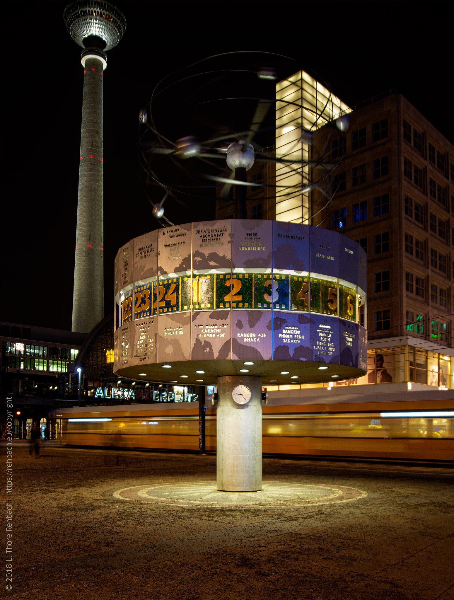 Berlin Weltzeituhr