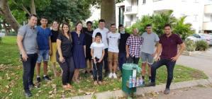 חדשות רחובות - מיזם נגישות מחזור בקבוקים - קריית החינוך אמית המר - רחובות ניוז