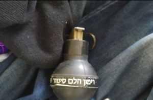 חדשות רחובות - רימון, צילום: משטרת ישראל - רחובות ניוז