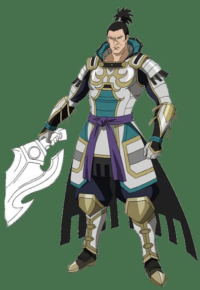 Kagekatsu Uesugi from Samurai Warriors