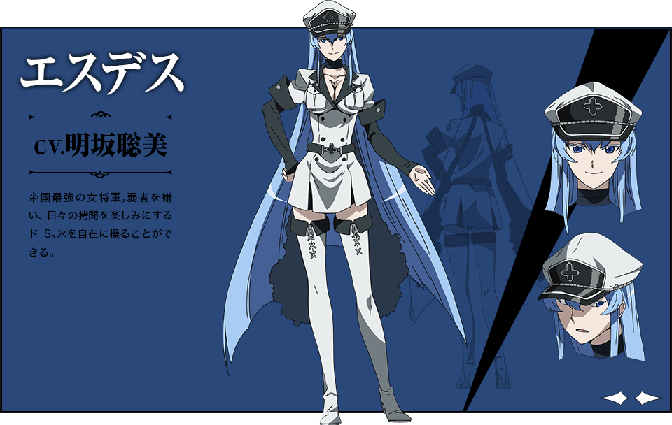 esdeath from akame ga