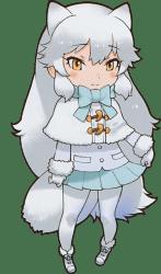 arctic fox anime kemono friends