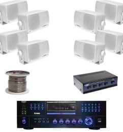 details about pd3000w dvd usb receiver 3 5 box speakers speaker selector speaker wiring [ 1600 x 1600 Pixel ]