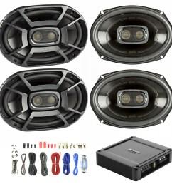 details about 4x polk 6x9 450w car boat speakers polk 330w 2 ch power amp wiring kit [ 1600 x 1600 Pixel ]