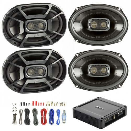 small resolution of details about 4x polk 6x9 450w car boat speakers polk 330w 2 ch power amp wiring kit