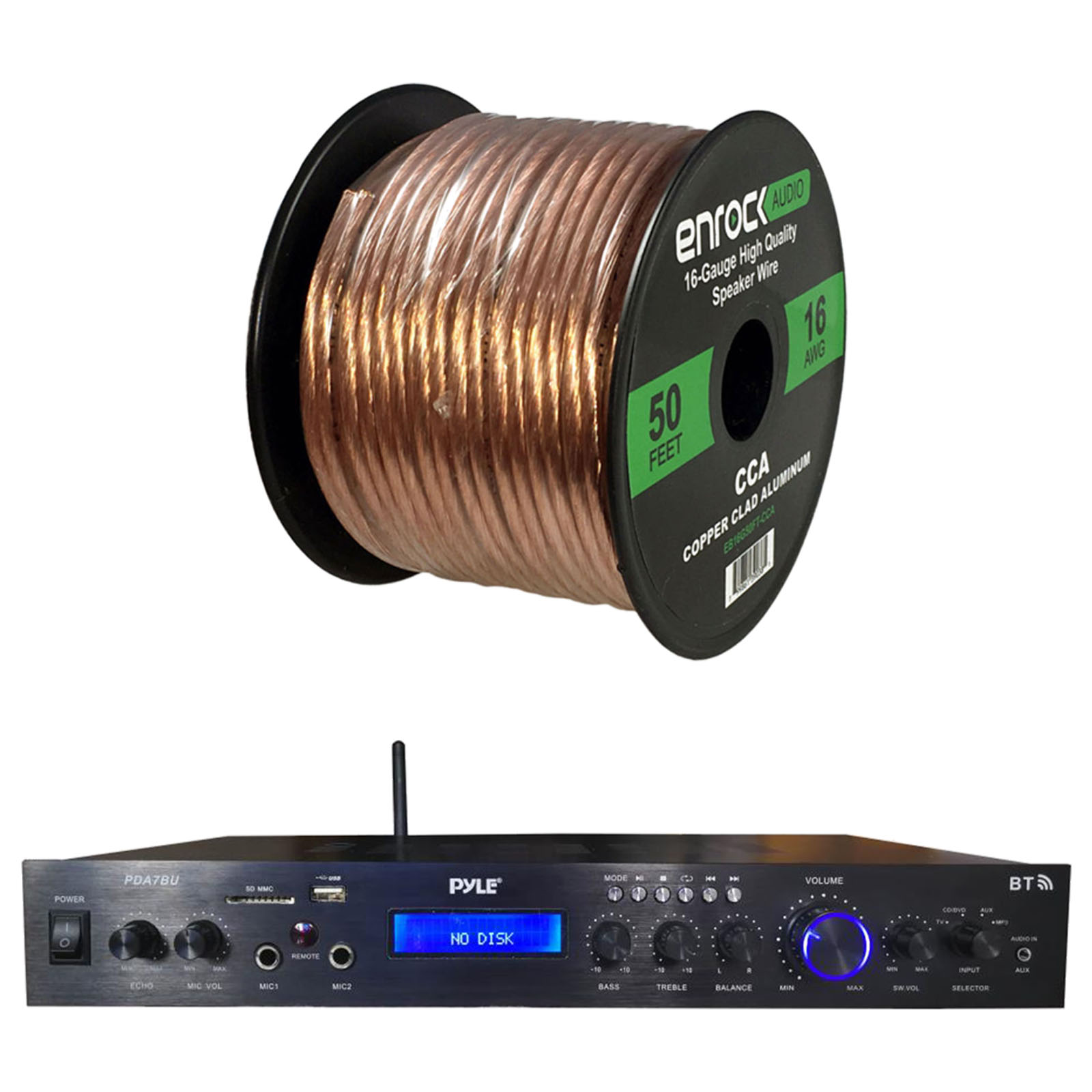 hight resolution of the plastic jacket around the speaker wire helps to deliver high quality undistorted signals to and from all of your audio equipment